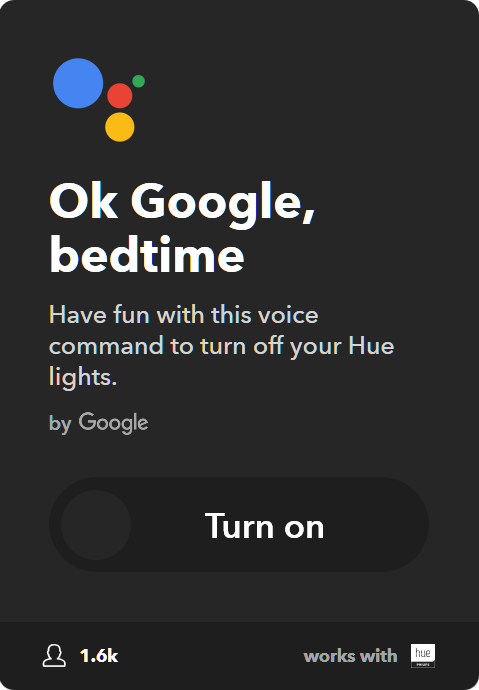 10 Best IFTTT Applets for Google Home & Pixel - Turn off Philips Hue lights