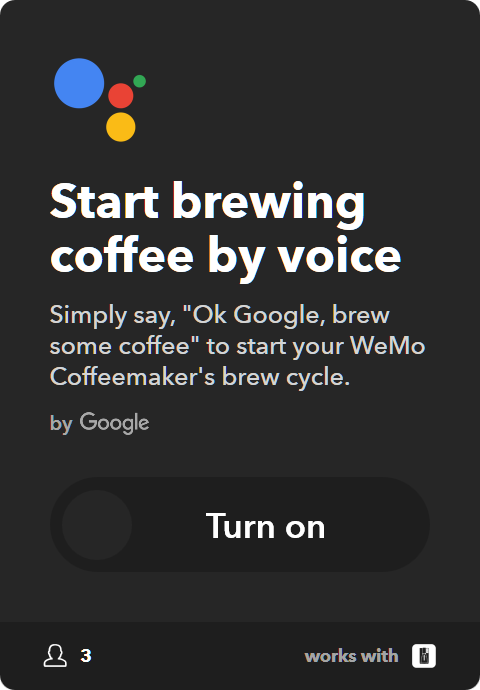 10 Best IFTTT Applets - Start brewing coffee with Google Assistant on Google Home