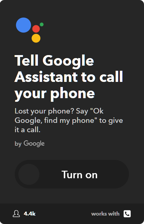 10 Best IFTTT Applets - Tell Google Home to call your phone so you can find it