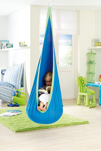 Adorable hanging nest hammock for kids