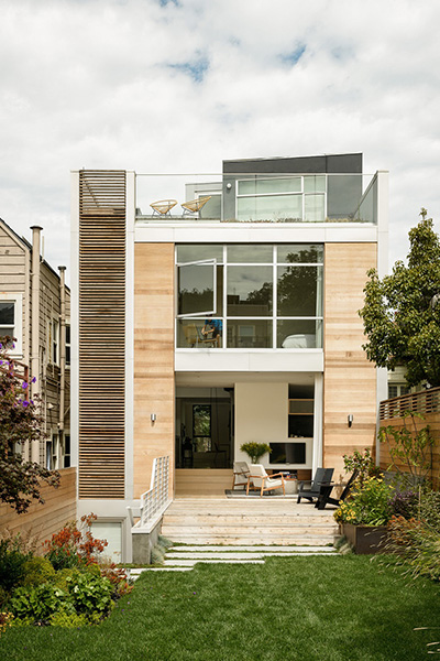 An unconventional San Francisco home renovation for a playful young family by Feldman Architecture
