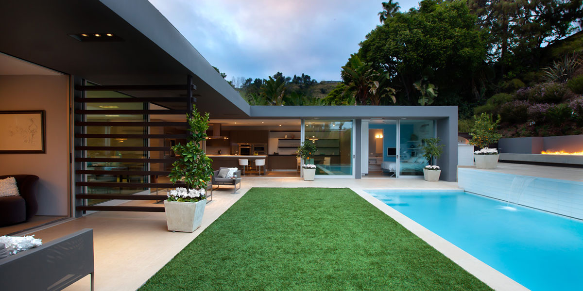Angelo residence modern los angeles house with stunning for Modern house design los angeles