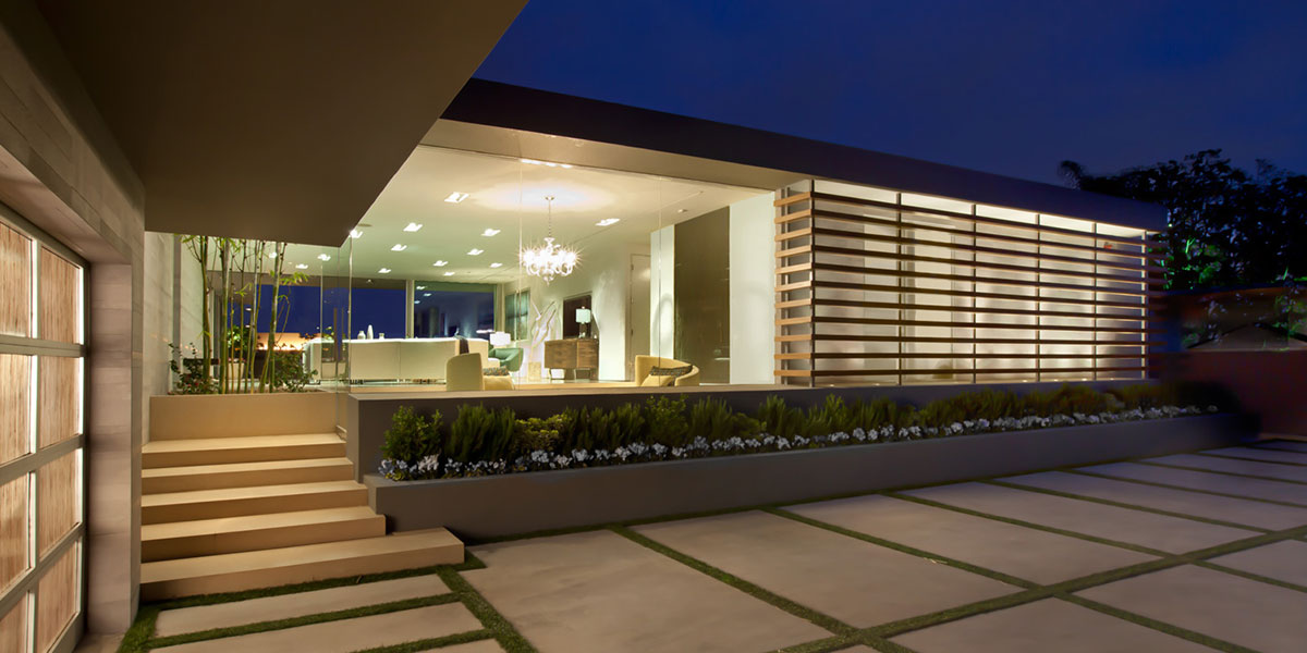 Angelo Residence - Outdoor View Night