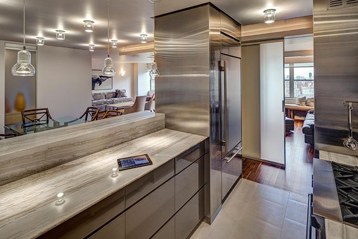 Beautiful Kitchen In A Stunning Manhattan Duplex