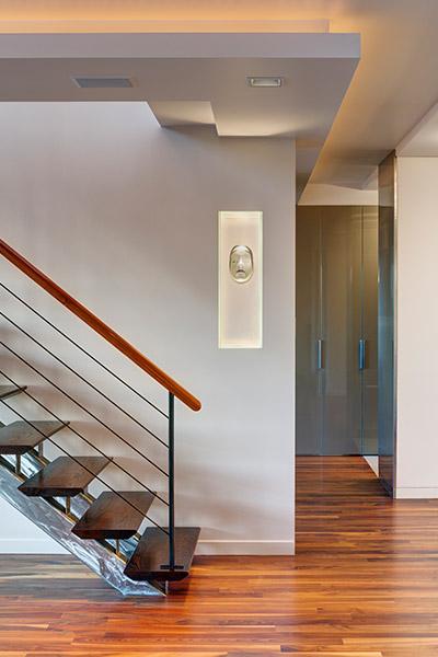 Beautiful Staircase In A Stunning Manhattan Duplex