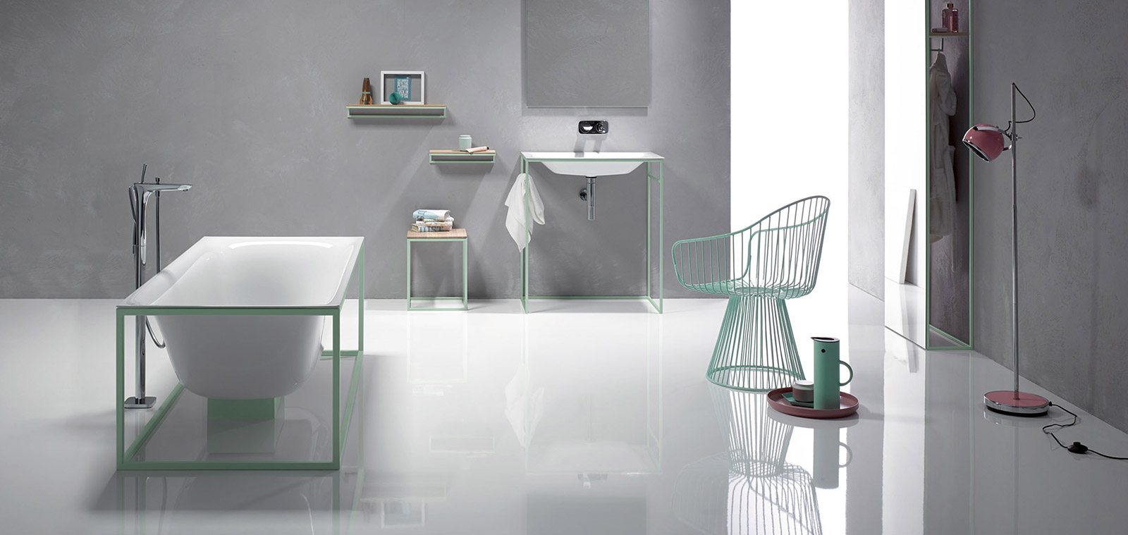 BetteLux Shape Collection By Bette White And Mint Color Options