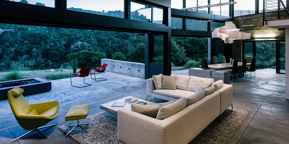 Butterfly House - Contemporary Low-Energy Home In Carmel California Inspired By Nature