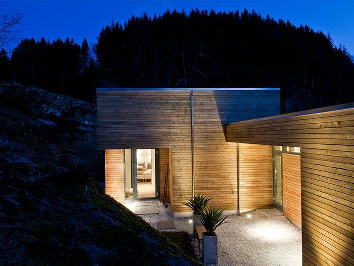 Cabin GJ 9 Modern Home Designed By Gudmundur Jonsson Arkitektkontor