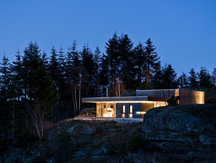 Cabin GJ-9 Stunning Mountain House By Gudmundur Jonsson Arkitektkontor