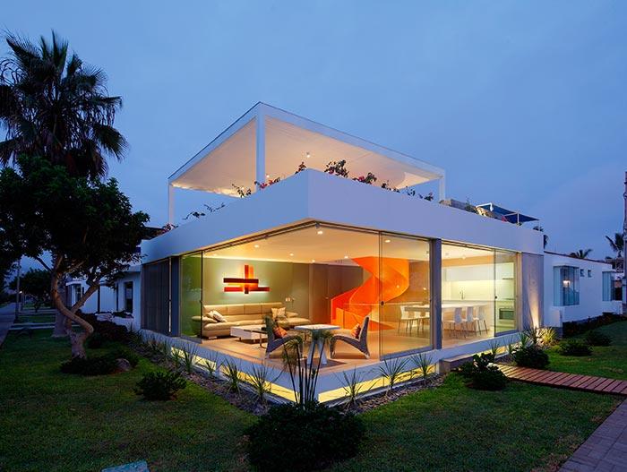 Casa Blanca Spectacular Home In Peru By Martin Dulanto