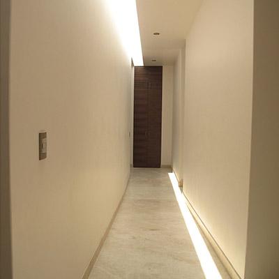 Casa L Corridor Design By Tania Lopez Winkler
