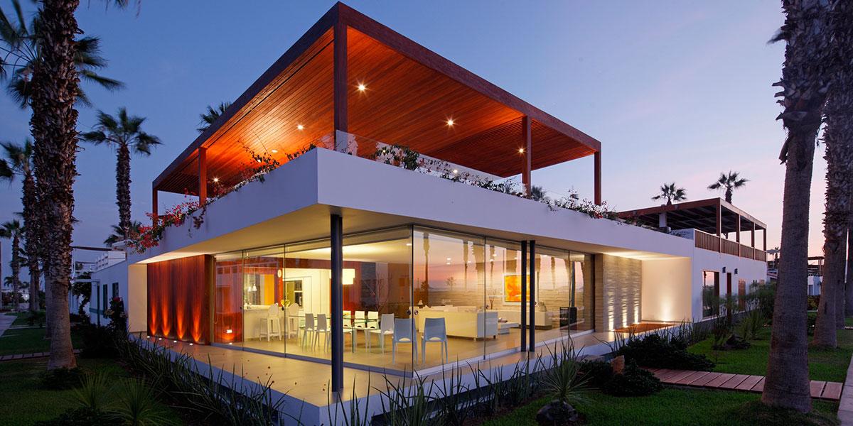Casa P12: Stunning beach house near Lima, Peru