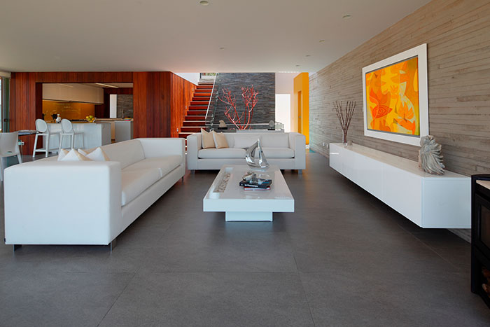 Casa P12 By Martin Dulanto-Modern Living Room