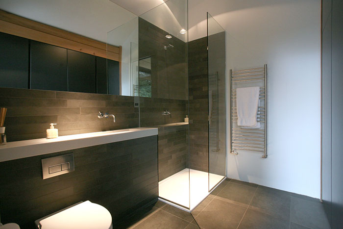 Cedarwood Bathroom Shower