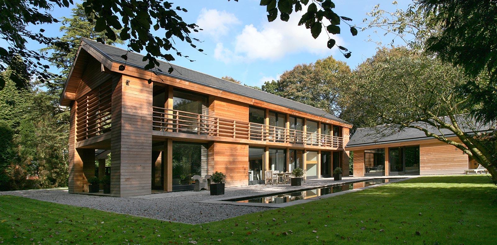 Cedarwood by Nicolas Tye Architects Exterior