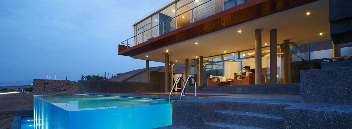 Contemporary beach house in Lima Peru - Beach House Q by Longhi Architects