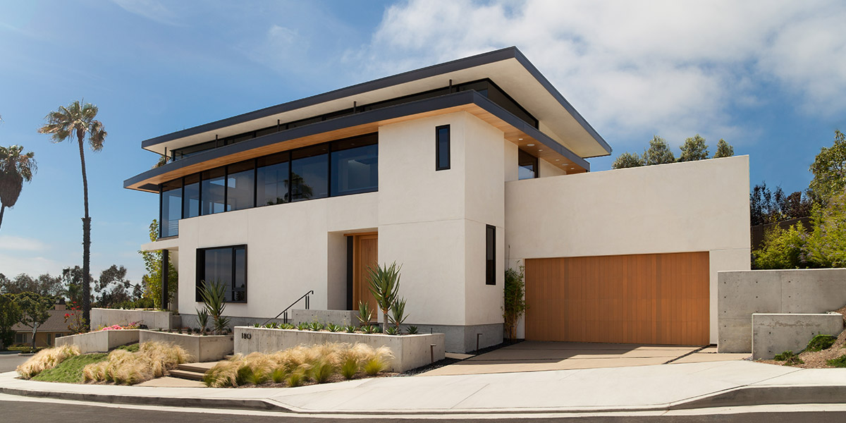 Cornelio residence beautiful modern house in orange for Mansions in orange county