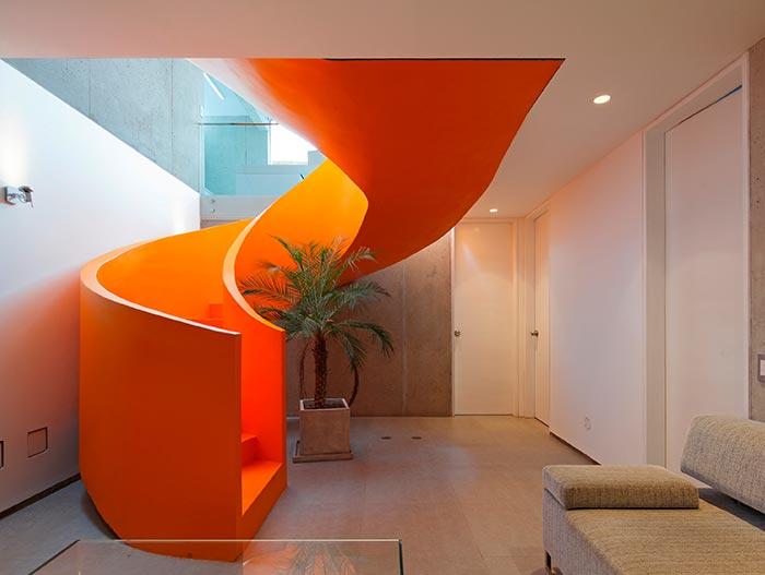 Creative Spiral Staircase Casa Blanca