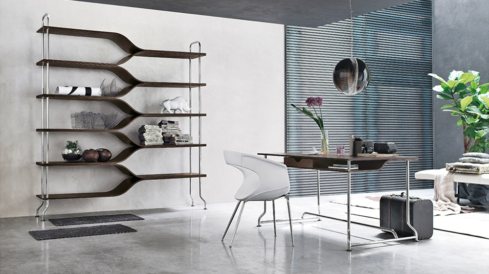 10 modern bookshelf designs to keep your home organized