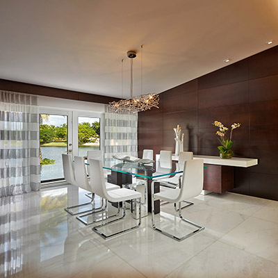 Doral residence luxurious house in miami beach florida - Residence secondaire exotique calderin design ...