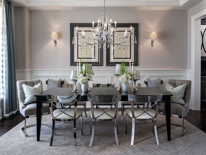 Elegant Traditional Dining Room Design