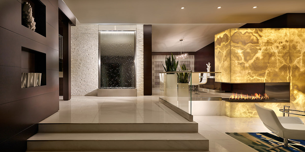 Entryway In Luxurious Florida House