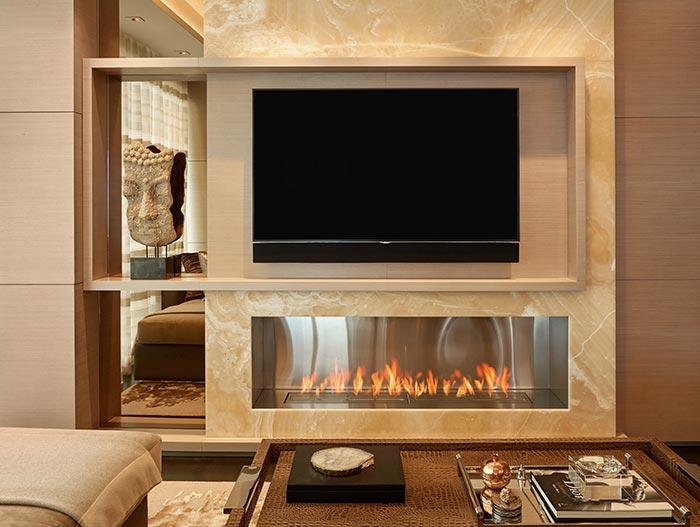 Stylish Apartment New York - Family Room Decor