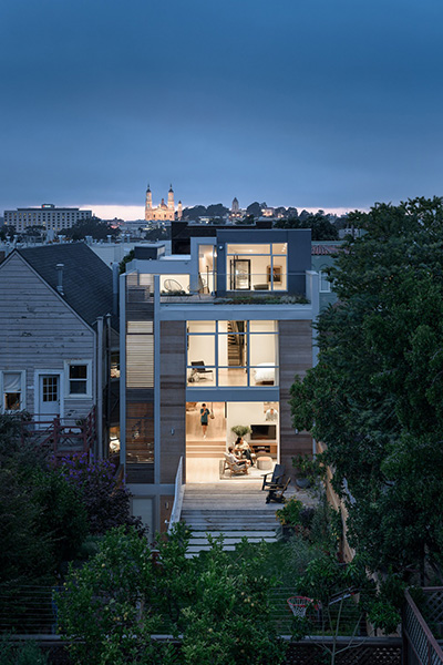 Fitty Wun - An unconventional San Francisco home renovation for a playful young family