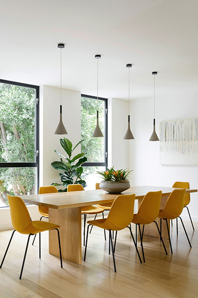 Fitty Wun by Feldman Architecture - Beautiful dining room