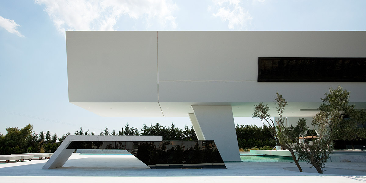 Futuristic House by 314 Architecture Studio Stunning Exterior