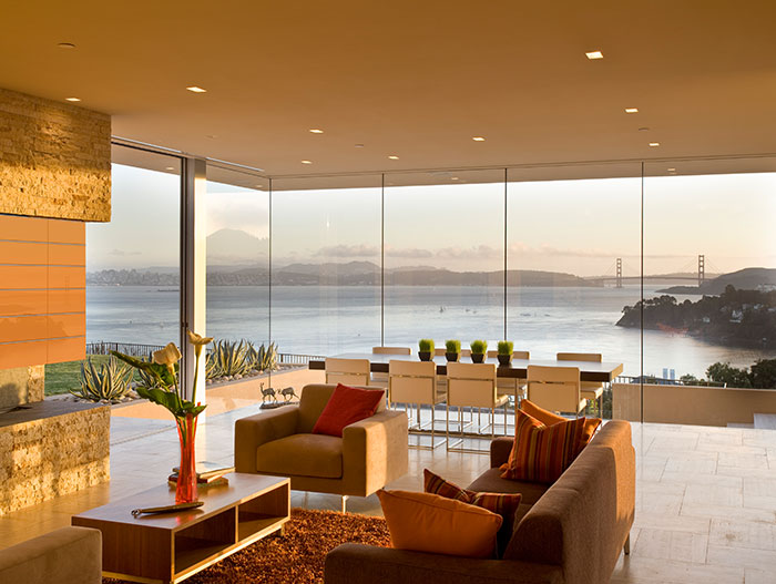 Garay Residence - Open-Plan Living And Dining Room With Californian Views