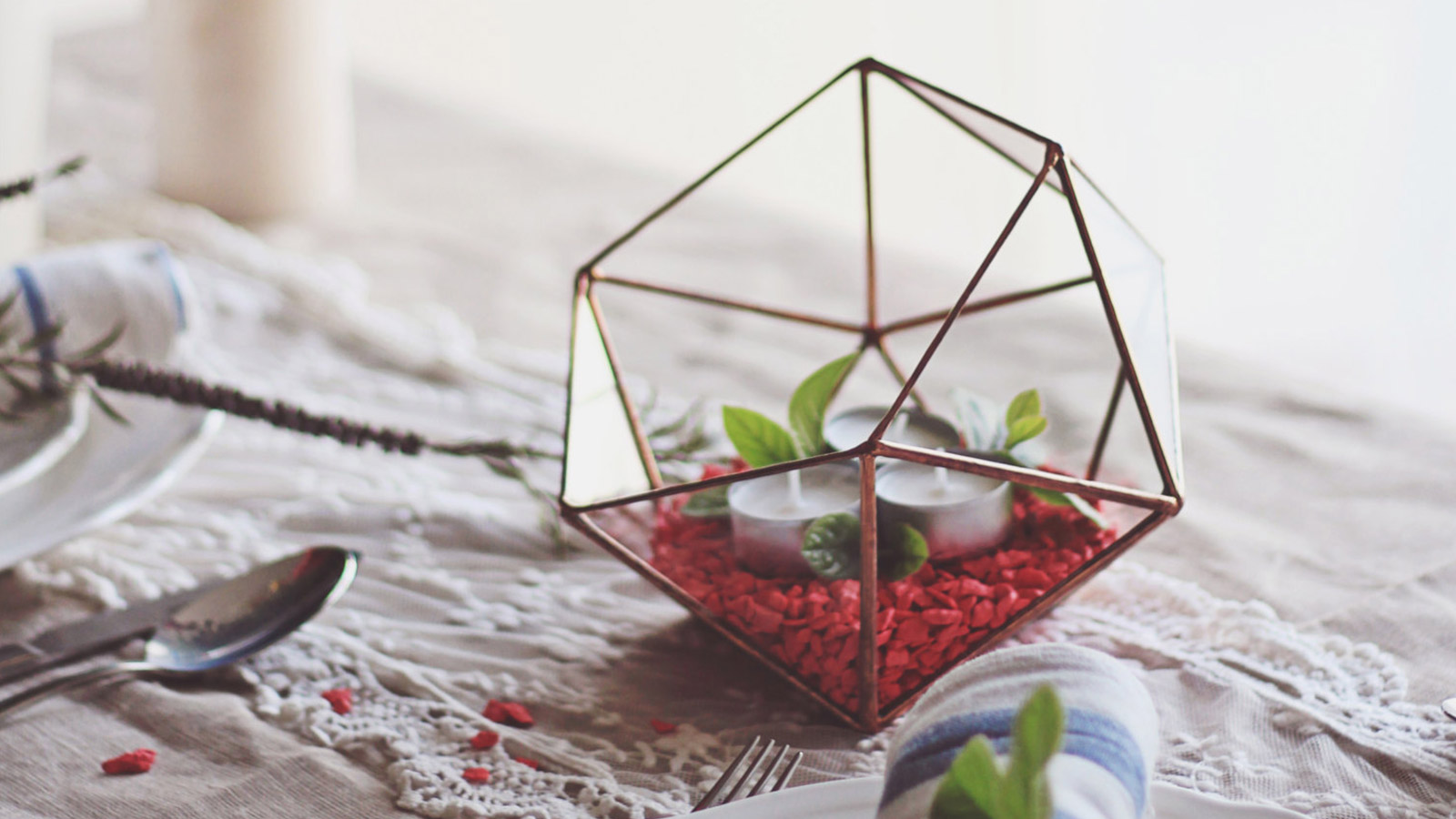 Adorable gift idea for home decor lovers: handmade geometric ...