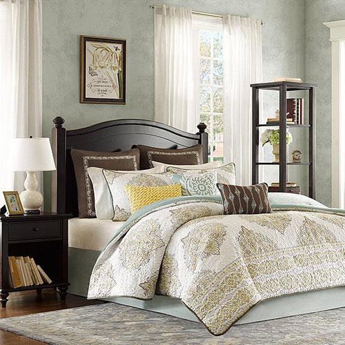 Harbor House Miramar 4-Piece Comforter Set Queen Multicolor
