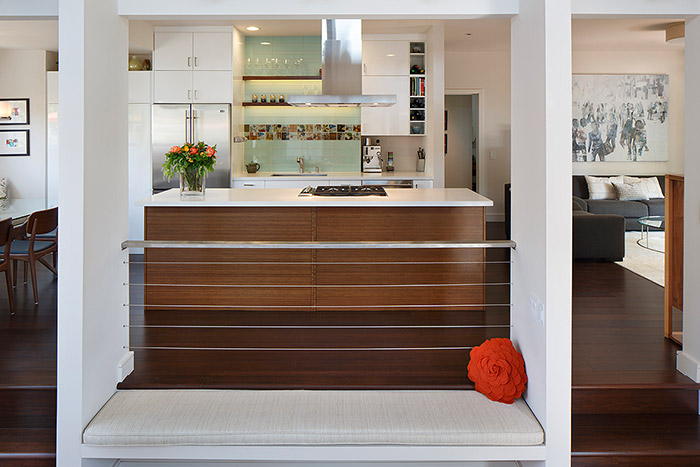 Harmon-Residence-by-Amy Alper Architect Modern Kitchen