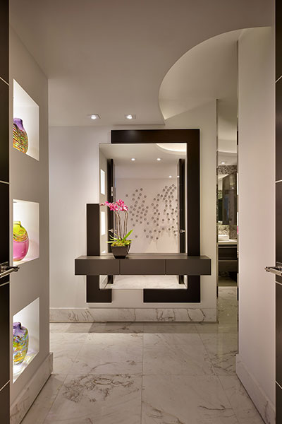 Hollywood-Penthouse-Modern Bathroom Entry By Pepe Calderin Design