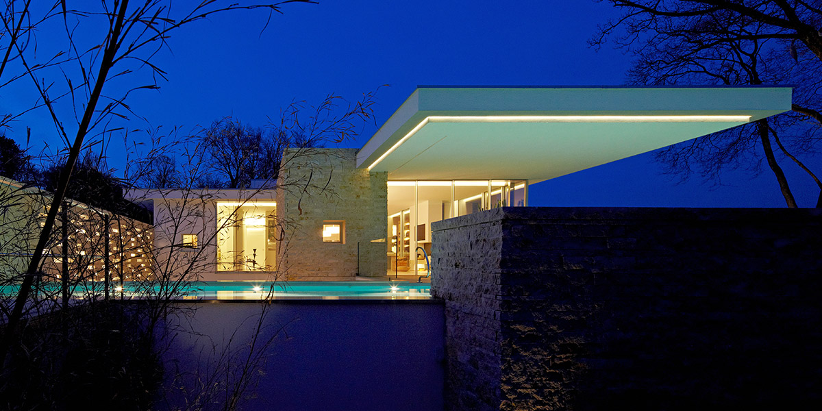 House S Modern Private Villa In Germany By Stephan Maria Lang Architect