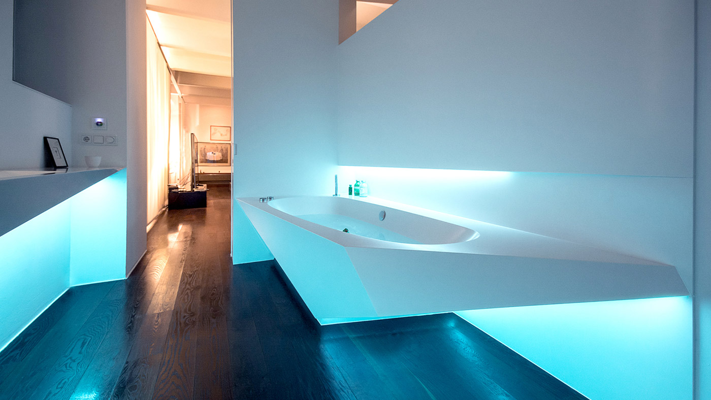 Amazing contemporary bathroom design: Ice bath by Who Cares?! Design ...