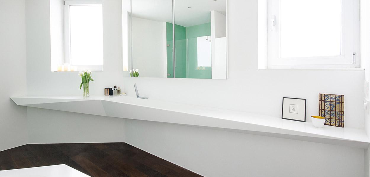 Ice bath by Who Cares?! Design geometric bathroom