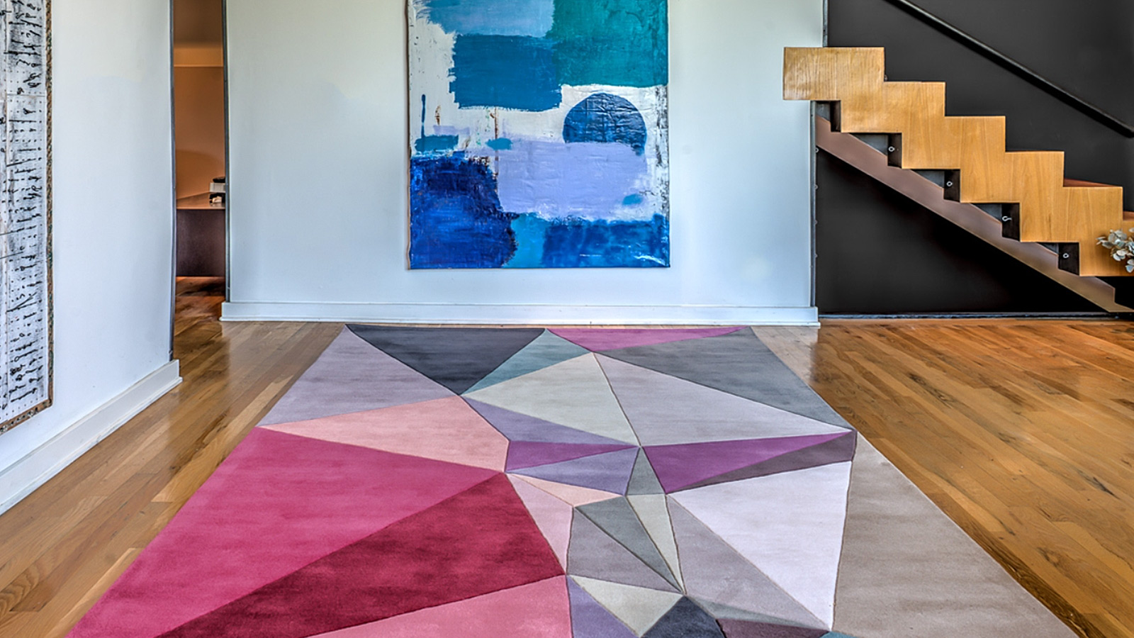 Korgamy Collection: Colorful geometric rugs by Karim Rashid   10 ...