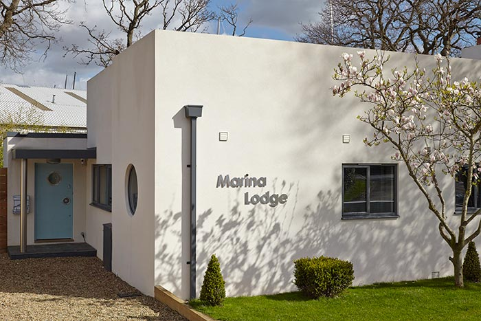 LA Hally Architect Marina Lodge House