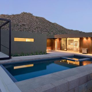 Levin Residence Modern House by Ibarra Rosano Design Architects