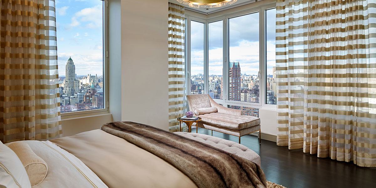 Luxurious Bedroom With Amazing Views By Pepe Calderin Design