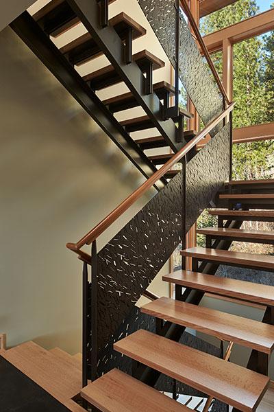 Mazama House Stairs