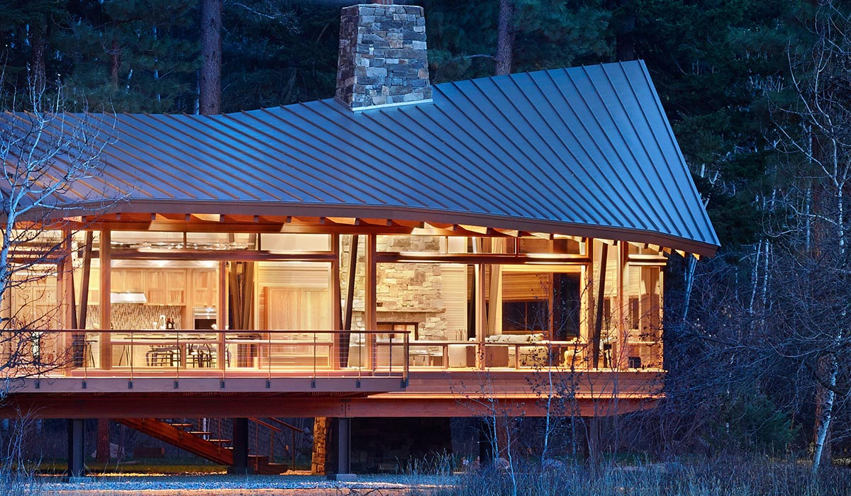 Mazama Sustainable House In Methow Valley