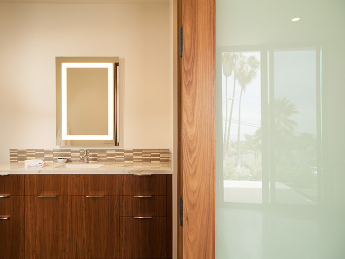 Modern Brown Bathroom Design