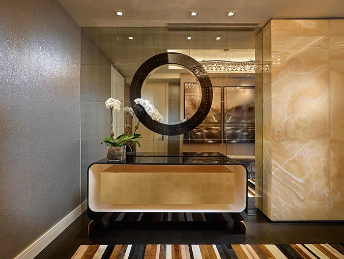 Modern House Foyer Designs : Stylish apartment in new york fit for a family of five