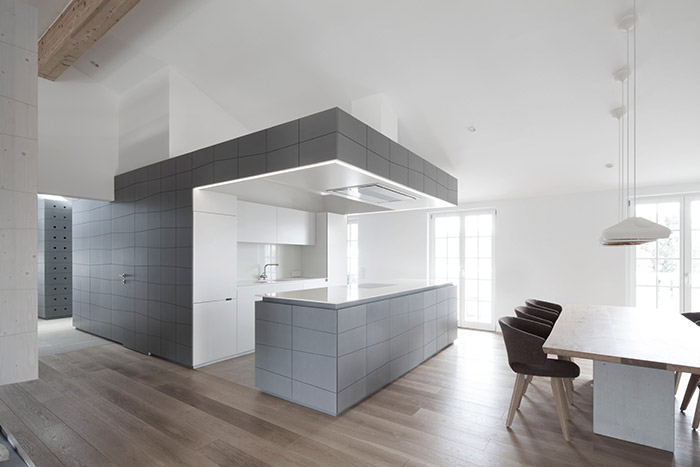 Modern Grey Kitchen By Destilat