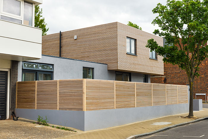 Cedar house stunning contemporary home in south london for Modern architecture house london