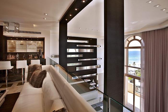 Modern Penthouse In Hollywood By Pepe Calderin Design