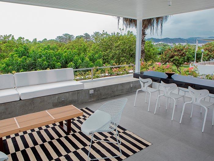 Modern Terrace In Peru